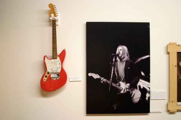 Fender Jag-Stang в музее Fender