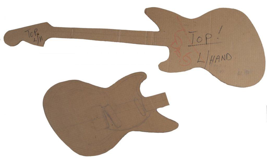 Оригинальный макет Fender Jag-Stang