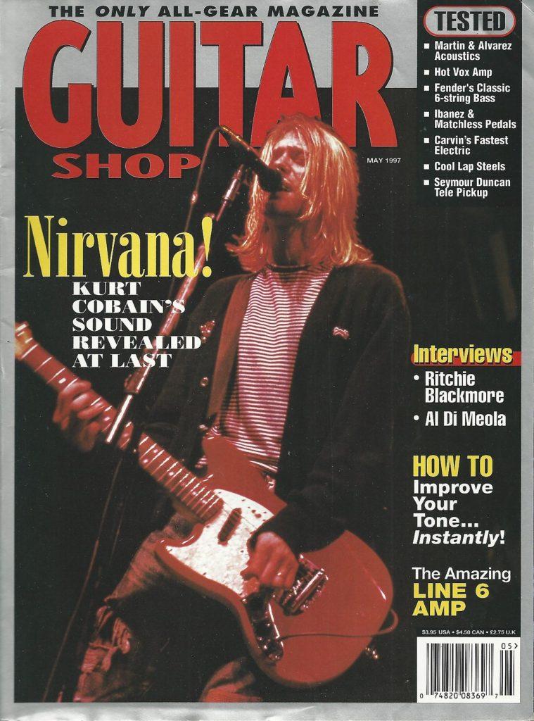 Guitar Shop, May, 1997 - Обложка журнала